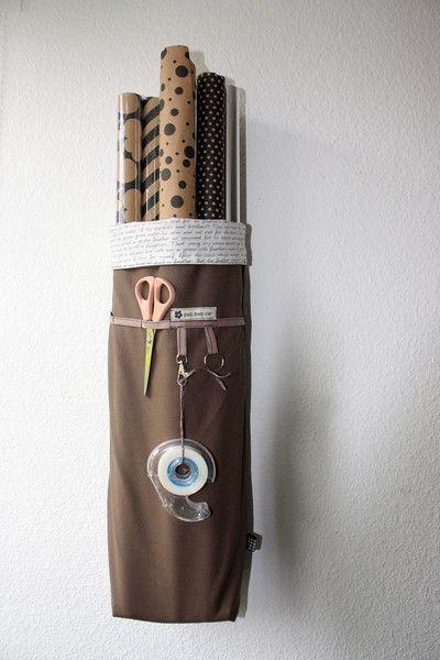weiteres geschenkpapier organizer wandutensilo aufbewahrung ein designerst ck von zwozwovier. Black Bedroom Furniture Sets. Home Design Ideas