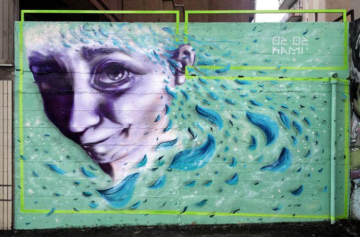 02.02.16 - KAMI Purple life // my birthday wall