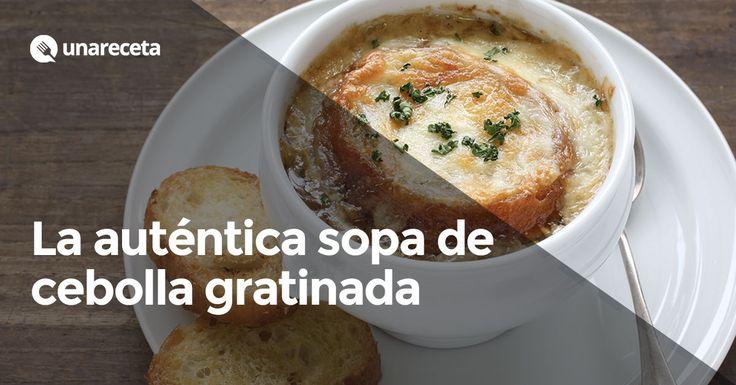✨Sopa de cebolla al horno gratinda riquísima!! ✨  #SopaDeCebollaGratinada #SopaDeCebolla #SopasYCremas #RecetasDeCocina