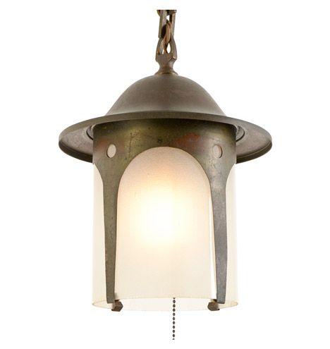Arts crafts lantern pendant c1910 r4166 lantern pendantcraftsman stylearts