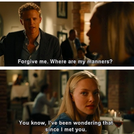 Letters to Juliet! I love this part!