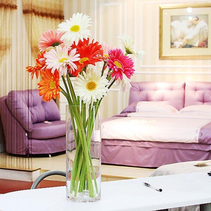 Сушат ваза для цветов стеклянные прозрачные Fuguizhu гидропоника растения гостиной настольный ваза цветок украшения