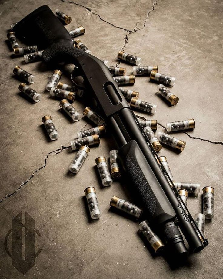 """Remington 870 with a 14"""" barrel When u must kill every mf in the room. except no substitute."""