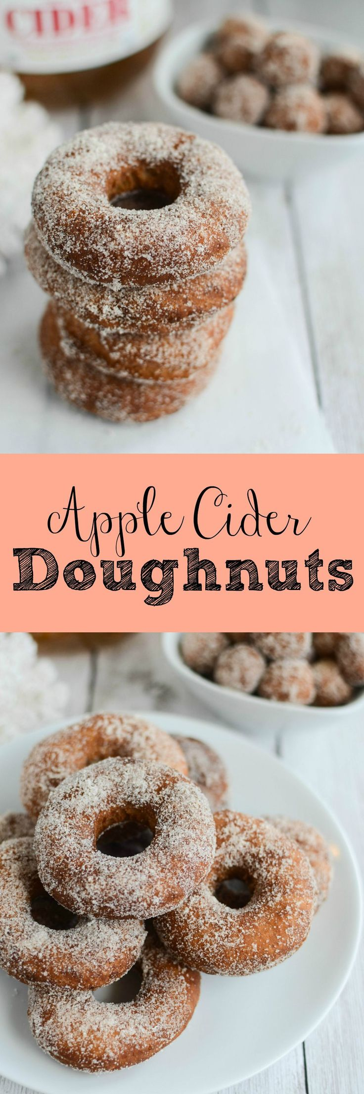 ... Doughnuts | Recipe | Homemade Apple Cider, Apple Cider and Yummy Cakes
