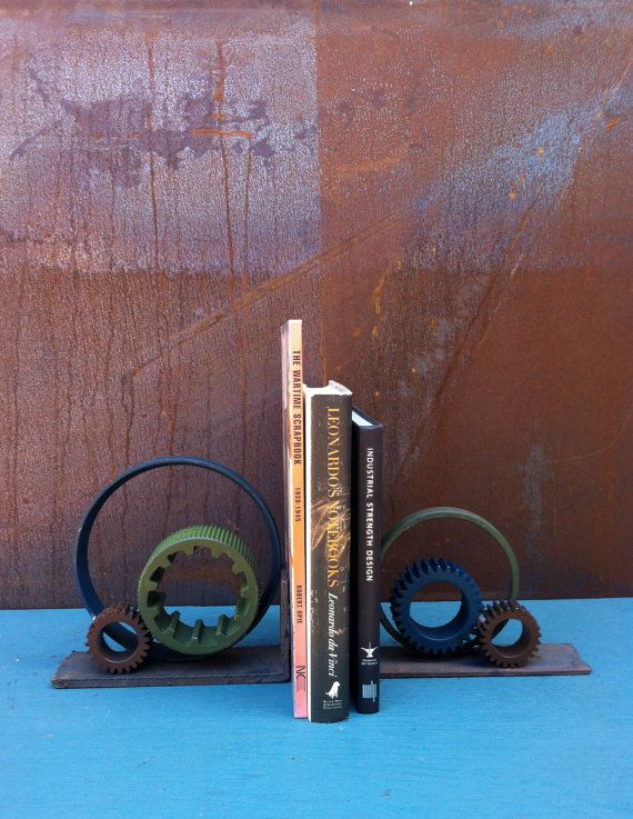 Best 25 Industrial Bookends Ideas On Pinterest