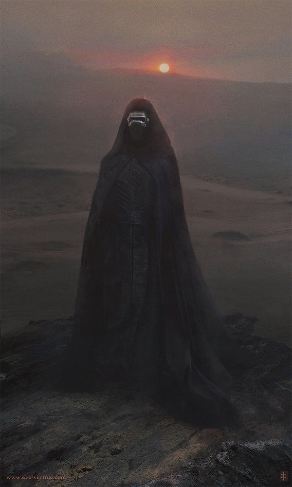 Kylo Ren - Created by Eve Ventrue