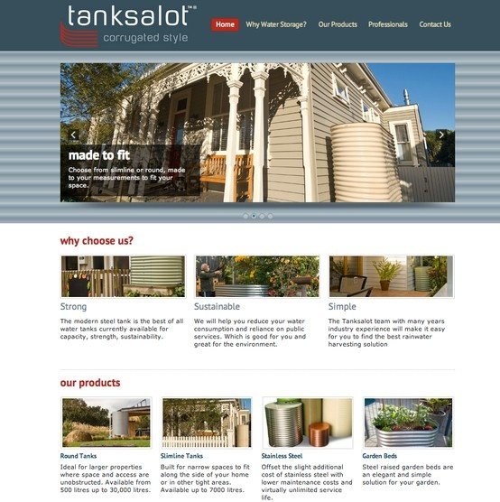 Wordpress Development - Tanksalot.co.nz