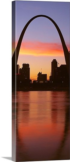 US, Missouri, St. Louis, Sunrise