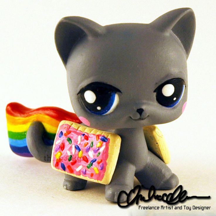 Nyan Cat Custom LPS by thatg33kgirl on DeviantArt