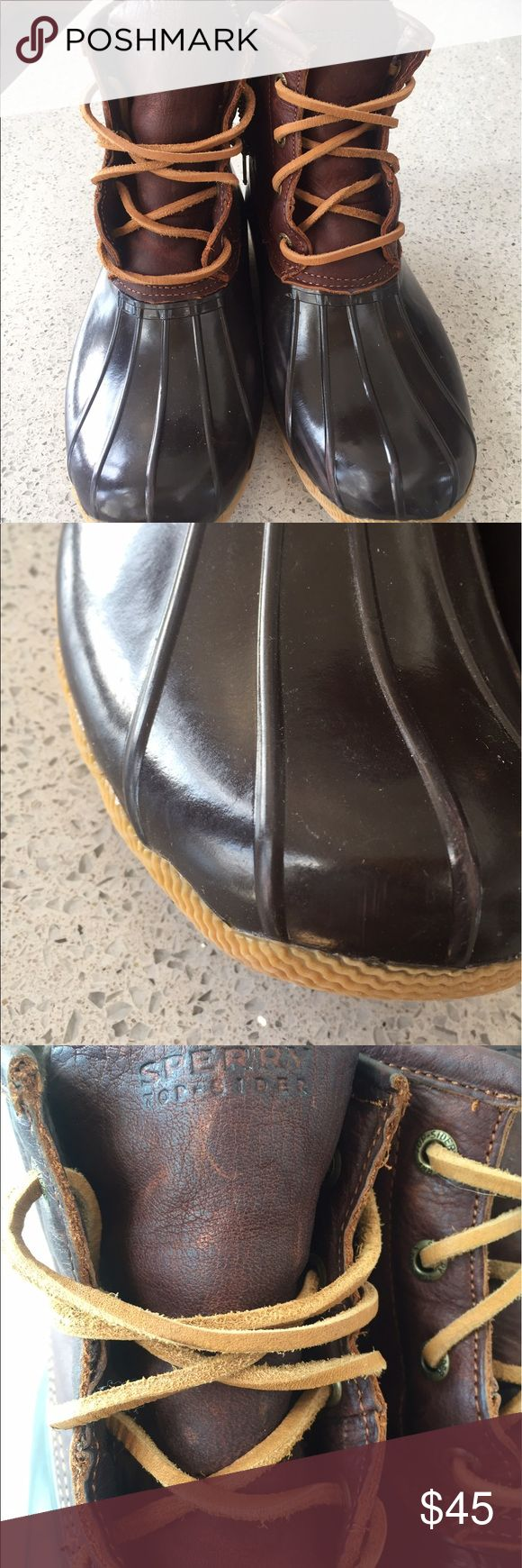 Sperrys saltwater ducks Boots Sperry Shoes Winter & Rain Boots