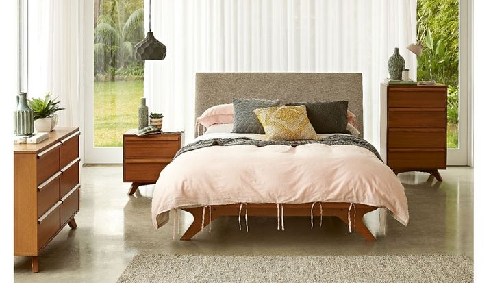 Calibra Queen Bed Frame | Domayne