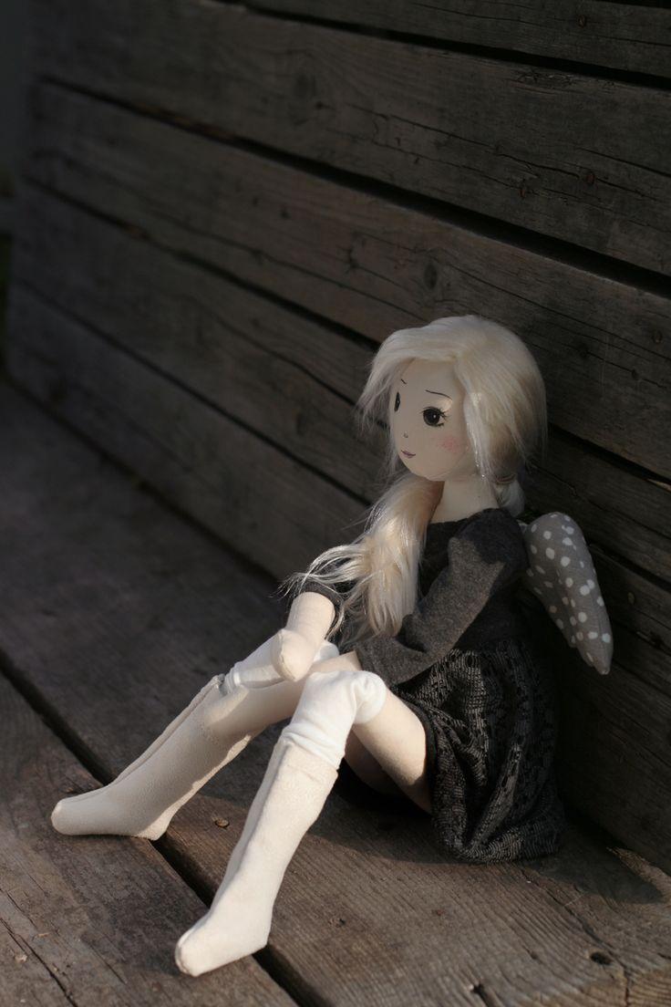 Asuli – roma anielska, handmade doll by romaszop