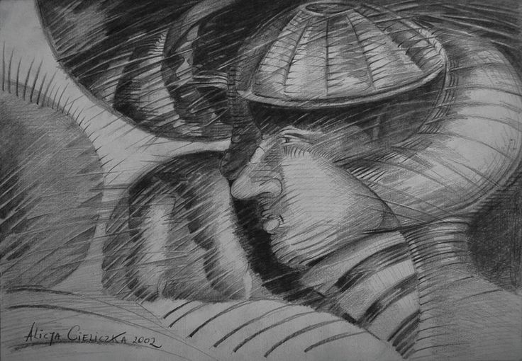 "https://flic.kr/p/Hmxfge   ""El androide""   pencil on paper"