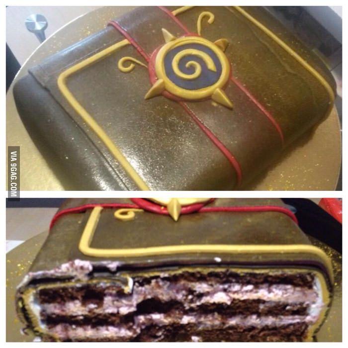 Hearthstone Cake.