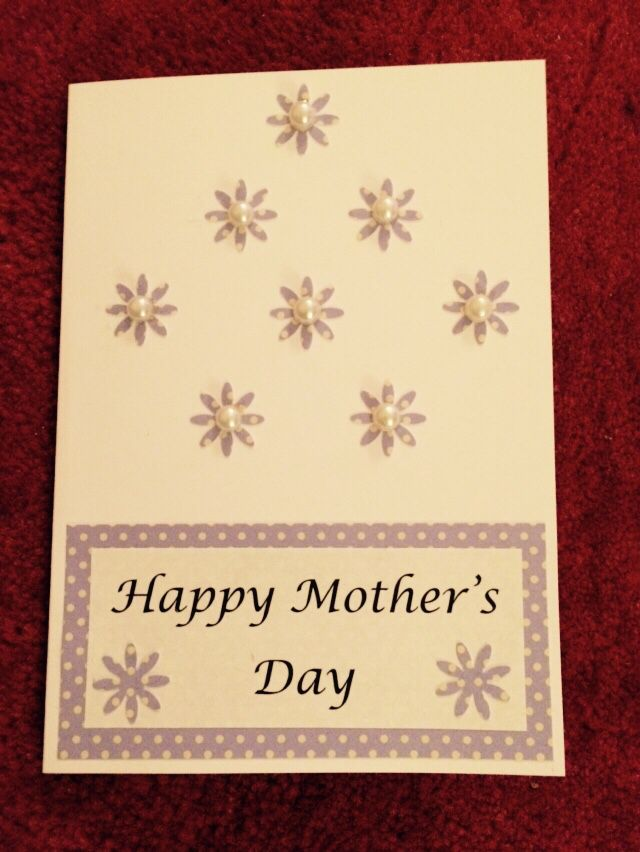 Handmade Mother's Day Card (2015)