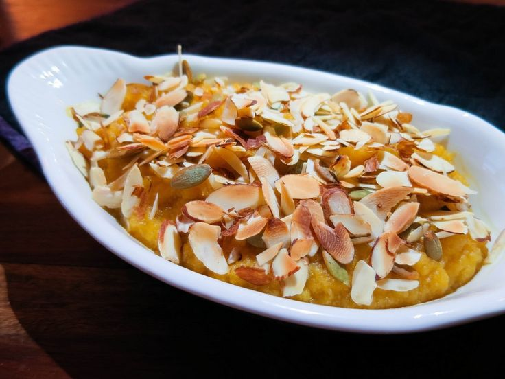 """Recipe: Low Carb """"Sweet Potato Casserole"""" - Low Carb Kitty!"""