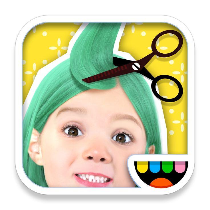 1000 images about toca boca on pinterest app kids for Toca boca hair salon