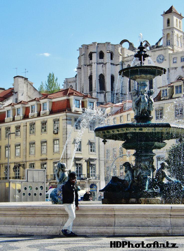 Lisbon, Rossio, Praça Don Pedro IV