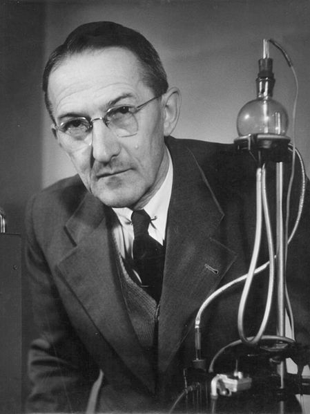 "Jaroslav Heyrovský (1890-1967), Czech chemist and inventor. ""for his discovery and development of the polarographic methods of analysis"""