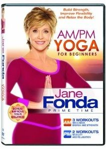 Click HERE to print the $3.00 off  Coupon for the Jane Fonda AM/PM Yoga for Beginners DVD. With special tips for seniors / Baby Boomers along the way!