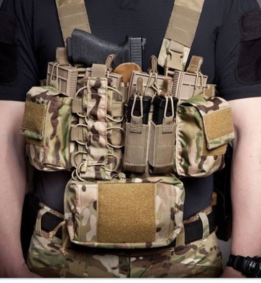Chest rig,looks like hsgi | Tactical gear. | Pinterest ...