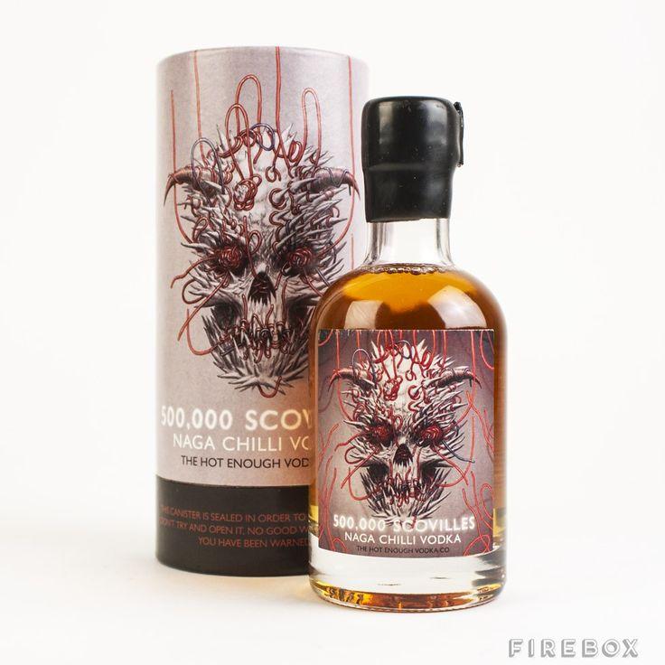 500,000 Scovilles Naga Chilli Vodka Will Probably Kill You -  #alcohol #spicy #vodka
