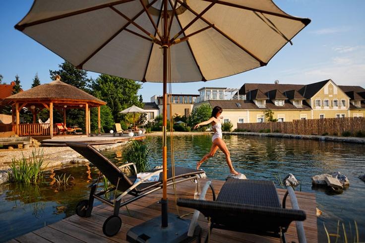 Sommer im Garten Hotel Ochensberger.