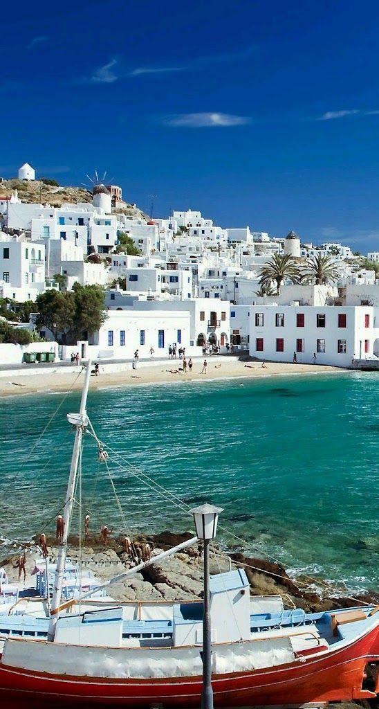 Foto: Η πανέμορφη Μύκονος -The beautiful #Mykonos Νησιά Ελλαδα - islands Greece