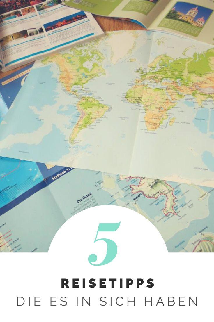 Hier gibts 5 wertvolle Reisetipps, die es in sich haben!