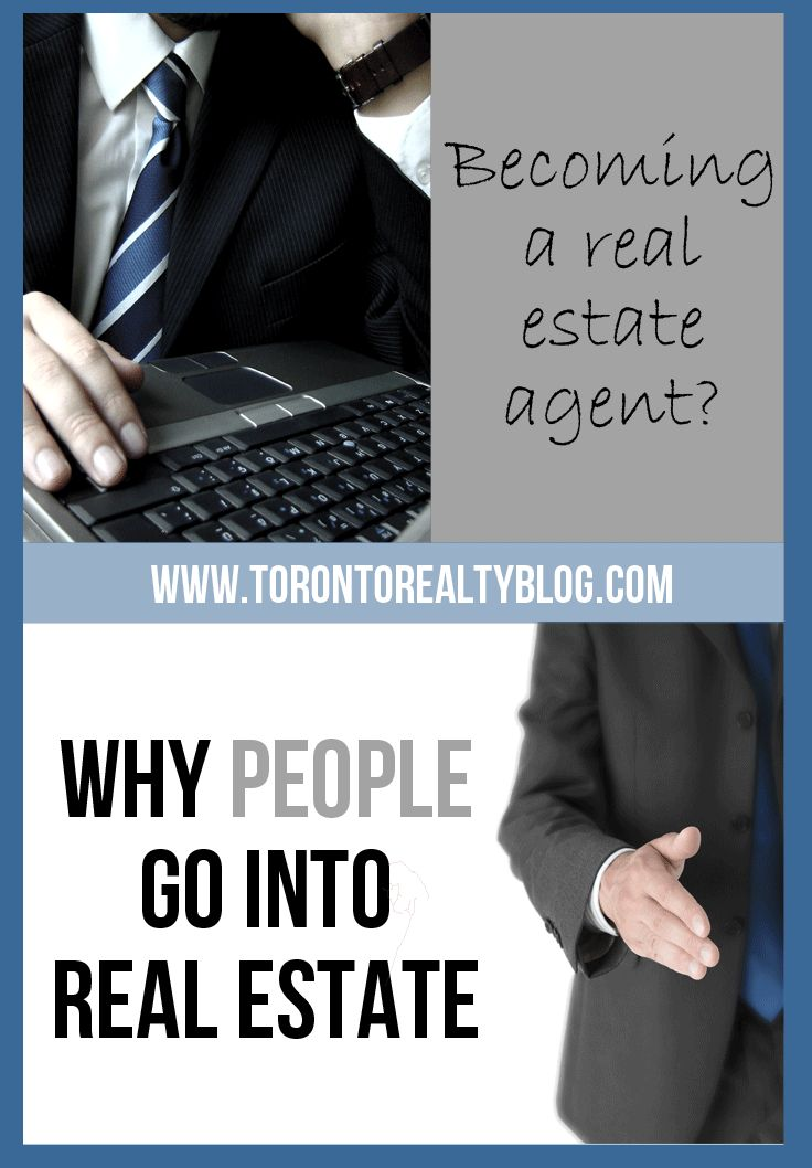 So You Want To Go Into Real Estate? The first step for any aspiring Realtor should be to go and talk to somebody in the industry—an agent, manager, broker, etc.  Most people don't do this, they just jump online and go to www.orea.com to sign up.  There is a curriculum that all potential Realtors must follow, and while it's far from the likes of the three phases of the C.F.A., it is tedioius and time consuming.