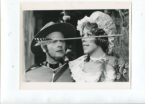 "1971 Vintage TV Photo Still -- Harvey Korman and Carol Burnett ""The Carol Burnett Show"" CBS Television Network 