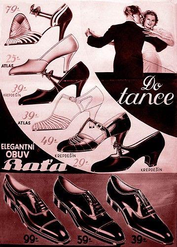 Klasická časopisecká reklama (A3), r. 1935.