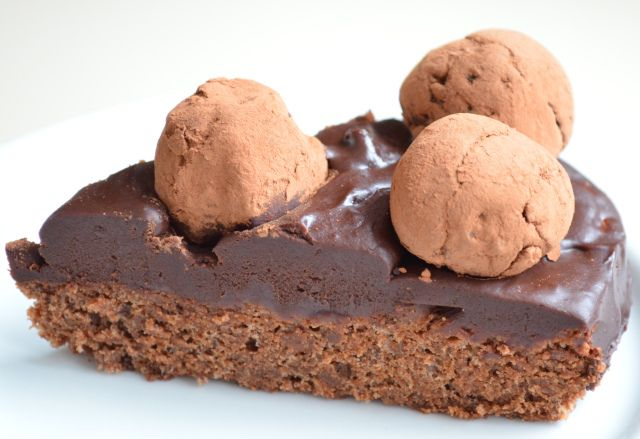 Sacher Torte Heart With Truffle Top | I Sing In The Kitchen | Pintere ...