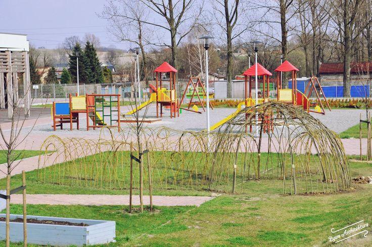 Naturalne place zabaw | Żywa Architektura