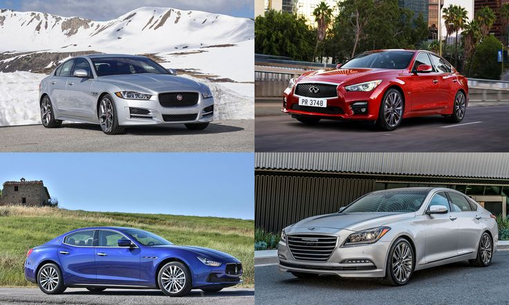 The price of admission to the top luxury car brands in America.
