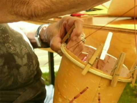 Steps for Making a Birch Bark Basket. This video provides all the steps needed to make a birch bark basket. Depending on the size, you can use it for picking berries or to store treats and other items.