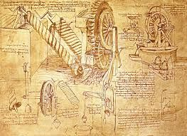 da vincis inventions and drawings