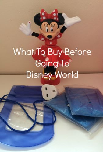 There are plenty of items that are cheaper if you buy them before you get to Disney World. Check out my list and save loads of money during your trip.