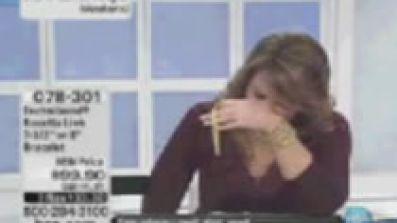 HSN Host Has Mental Breakdown On Air