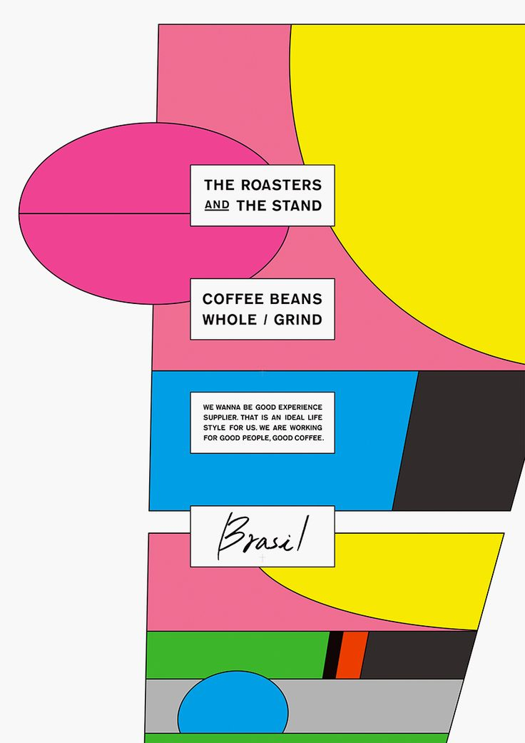 "RAPYARD ""THE ROASTERS AND THE STAND"" 2015 Coffee shop posters / 2016 TDC Prize Nominee Work [ Poster Category]"