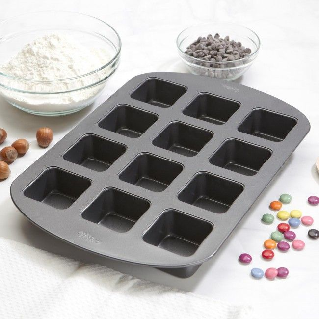 make perfect brownies every time with the wilton whoopie brownie pan