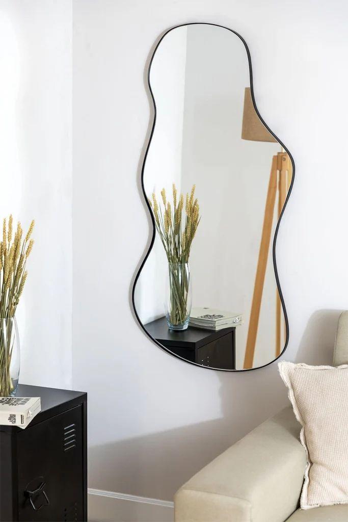 Espejo de Pared en Metal (110x67 cm) Astrid - SKLUM Editorial, Mirror, Ideas, Furniture, Home Decor, Decorative Accessories, Wall Mirrors, Industrial Style, Yurts