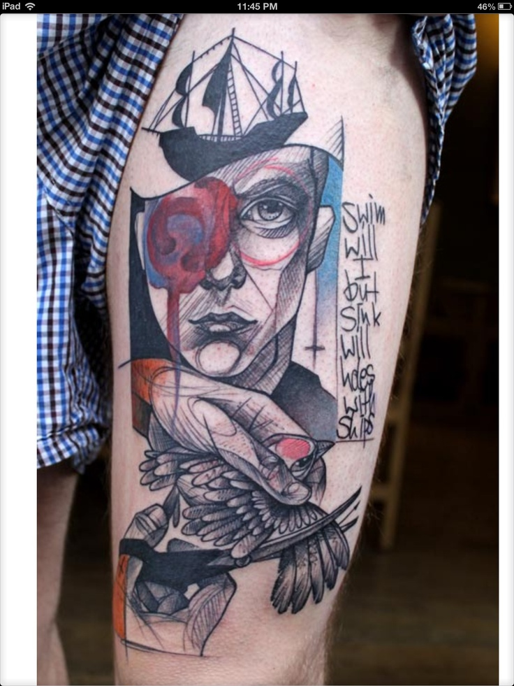 110 best Abstract Tattoos images on Pinterest | Abstract ...
