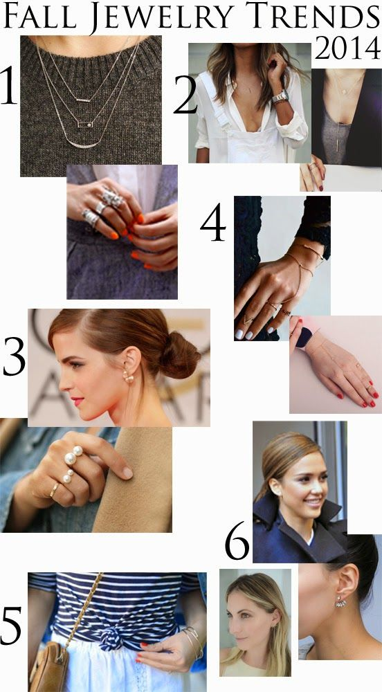 Fall Jewelry Trends 2014