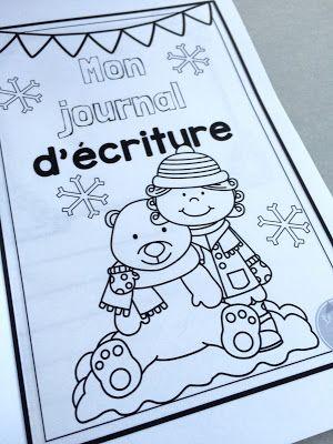 Ensemble d'activités d'écriture pour l'hiver!!! www.lecahierdepenelope.com