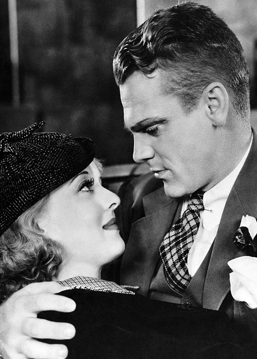 Bette Davis and James Cagney