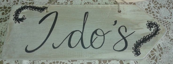 Directional Wedding Signs - Customize your hand painted wooden sign to the theme of your special day!