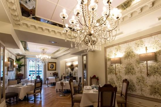 Cafe de Oriente - Madrid - pastries and cafe con leche - by Palace