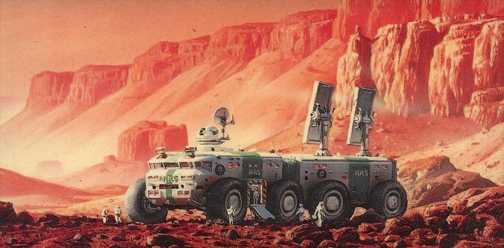 Kim Stanley Robinson's Mars trilogy is one of the most important books about terraforming (and interplanetary colonization) of the past 20 years. And Robinson spent 10 years working on it, learning a lot about the subject as he went. But it all started becuase he fantasized about going backpacking on Mars.