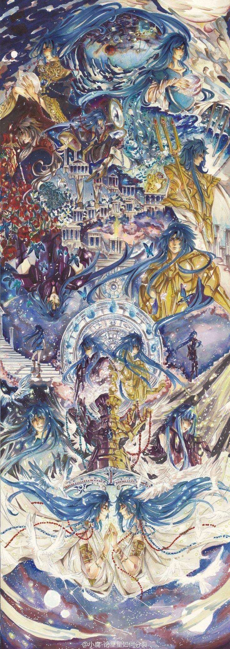 Saint Seiya, Gemini Saga and Kanon